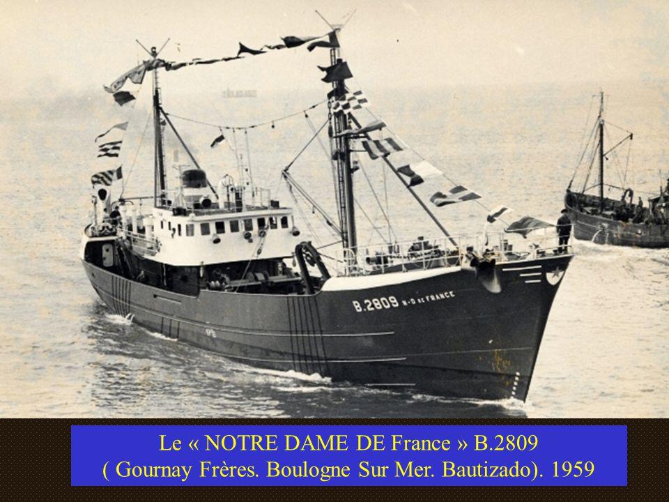 Le « NOTRE DAME DE France » B.2809