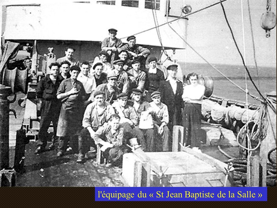 l équipage du « St Jean Baptiste de la Salle »