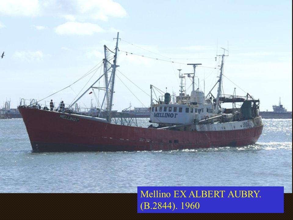 Mellino EX ALBERT AUBRY. (B.2844). 1960