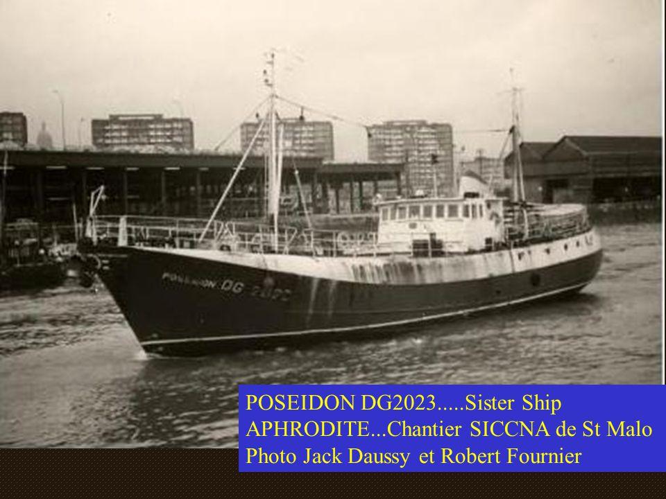 POSEIDON DG2023. Sister Ship APHRODITE