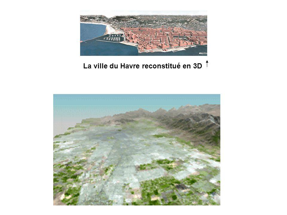 La ville du Havre reconstitué en 3D