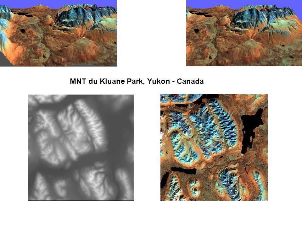 MNT du Kluane Park, Yukon - Canada