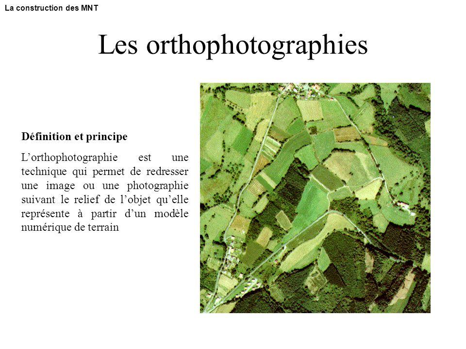 Les orthophotographies
