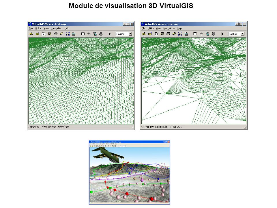 Module de visualisation 3D VirtualGIS