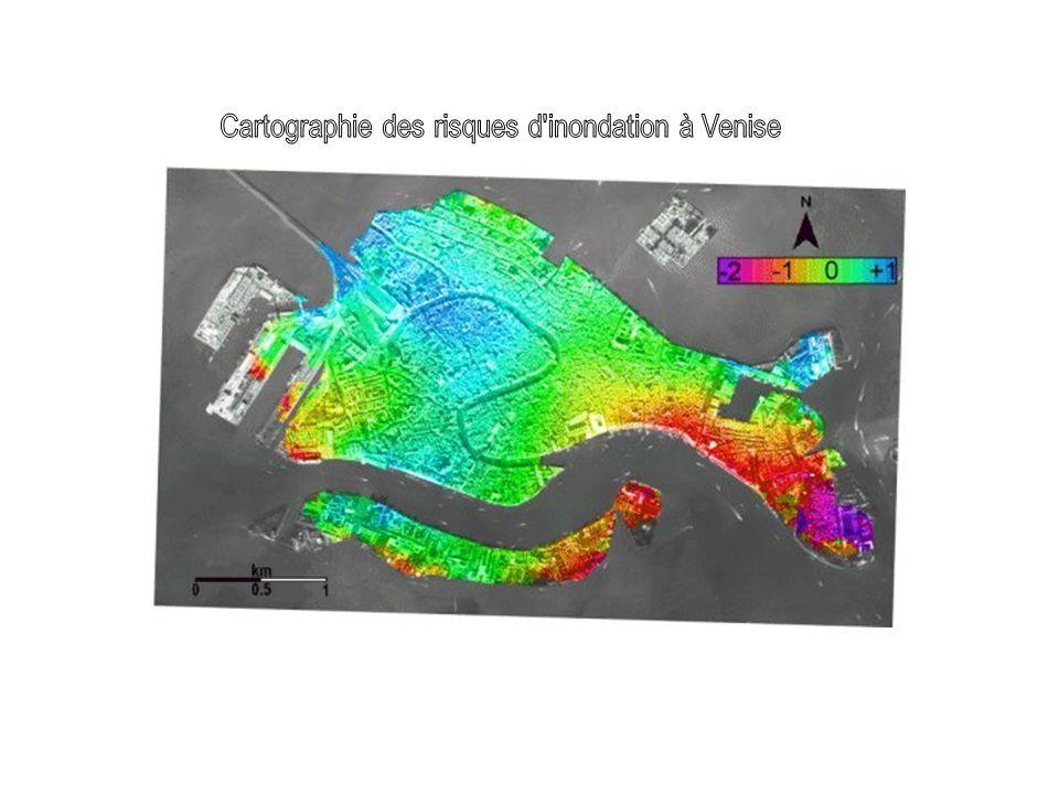 Cartographie des risques d inondation à Venise