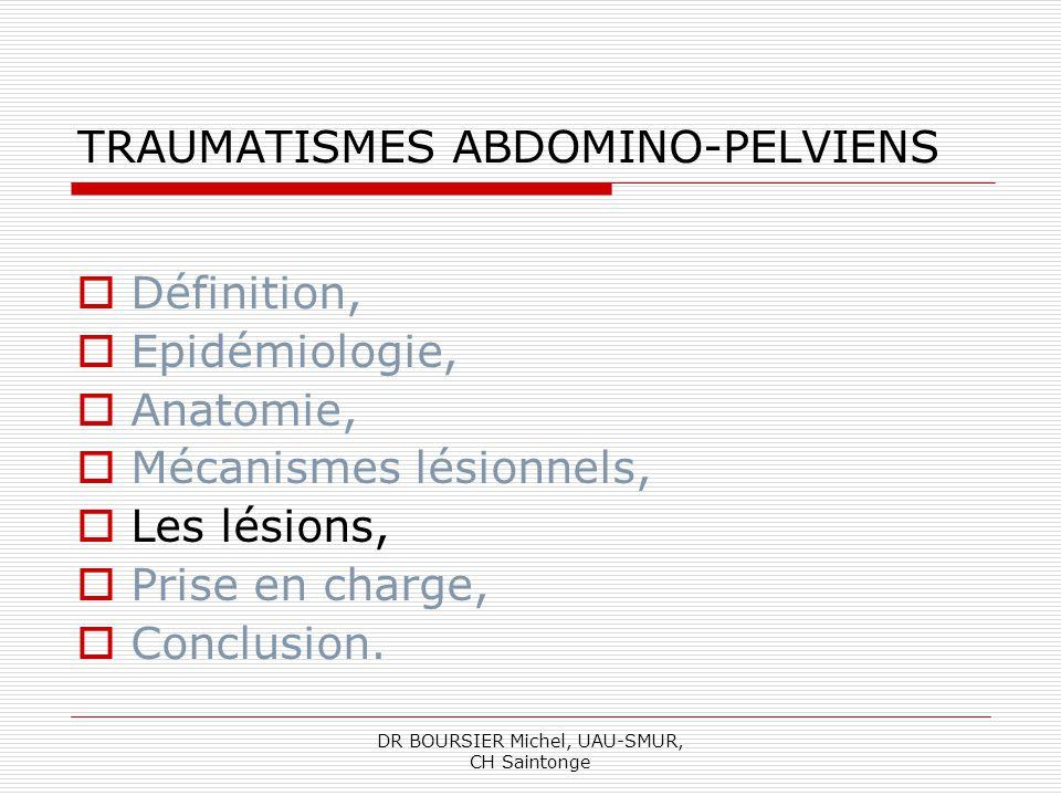 TRAUMATISMES ABDOMINO-PELVIENS