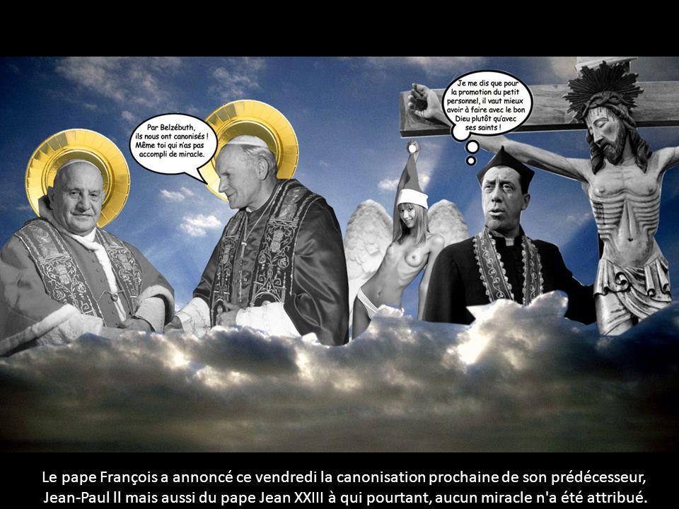Le pape François a annoncé ce vendredi la canonisation prochaine de son prédécesseur,