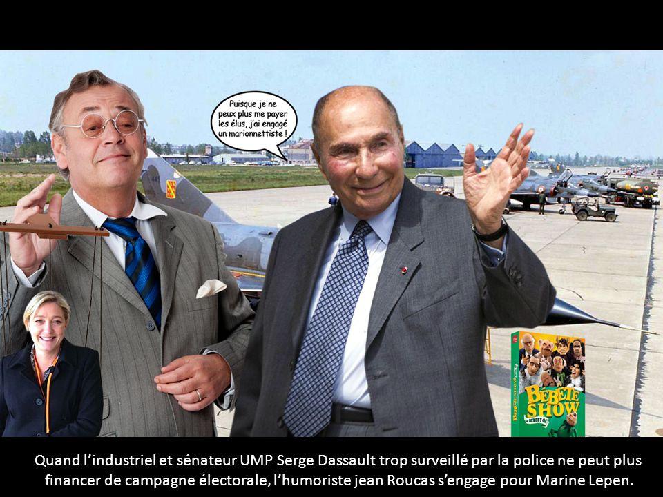 Quand l'industriel et sénateur UMP Serge Dassault trop surveillé par la police ne peut plus