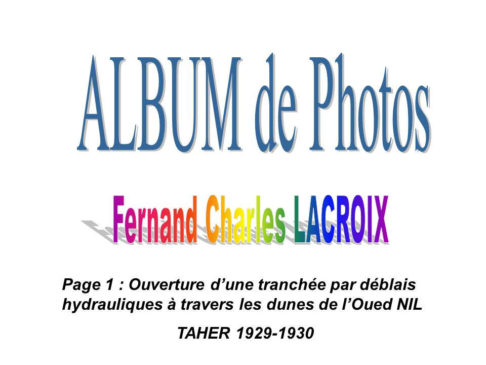 Fernand Charles LACROIX