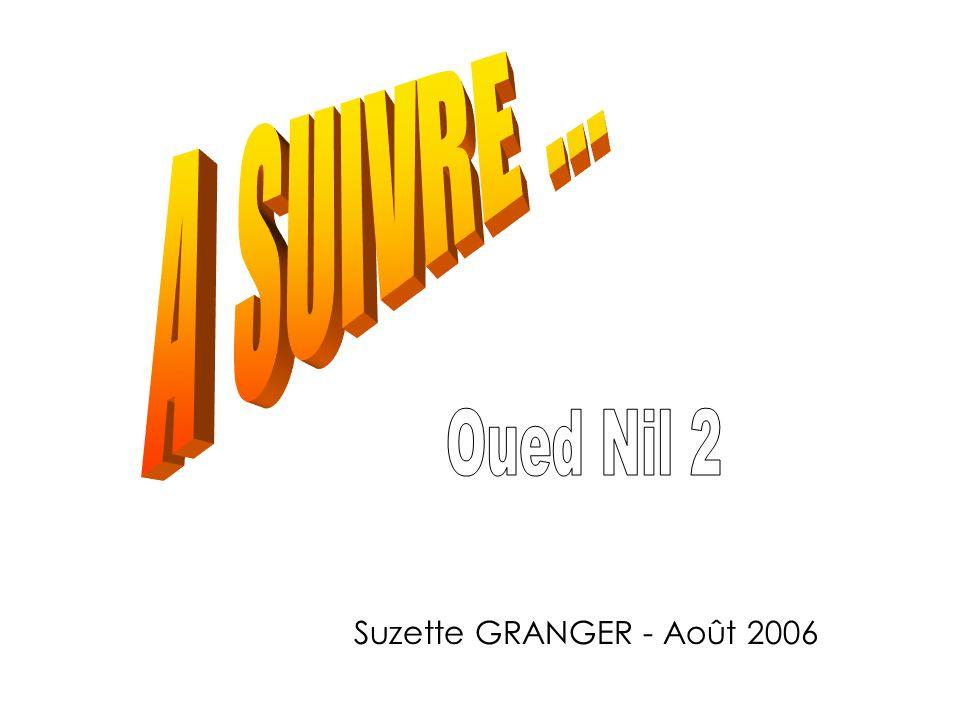A SUIVRE ... Oued Nil 2 Suzette GRANGER - Août 2006