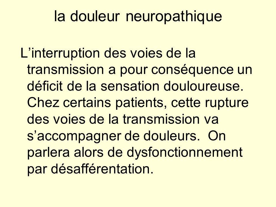 la douleur neuropathique