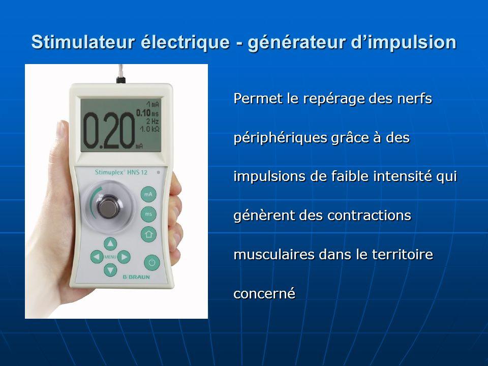 Stimulateur électrique - générateur d'impulsion