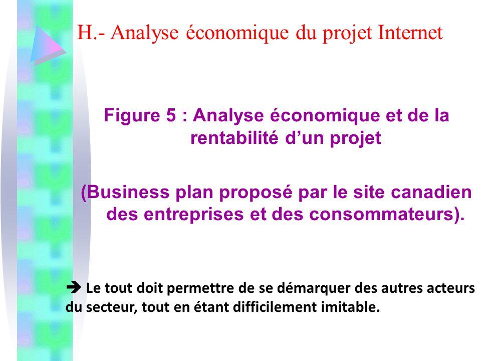 H.- Analyse économique du projet Internet