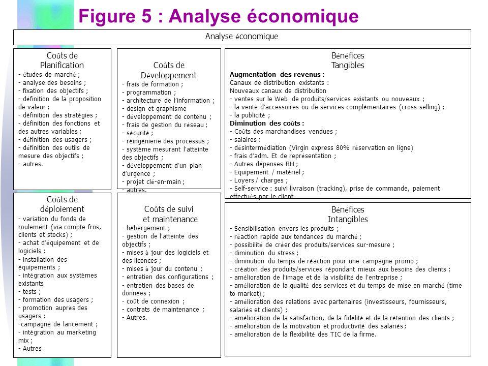 Figure 5 : Analyse économique