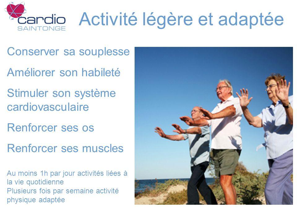 Activité légère et adaptée