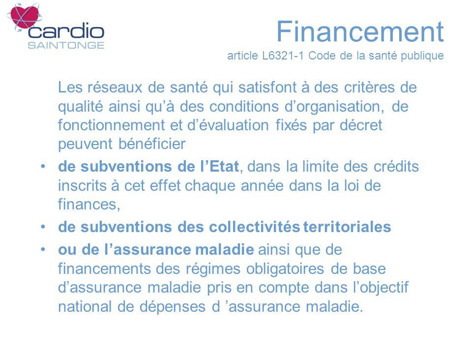 Financement article L6321-1 Code de la santé publique