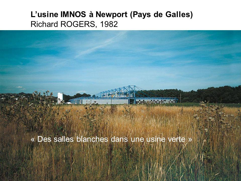 L'usine IMNOS à Newport (Pays de Galles)