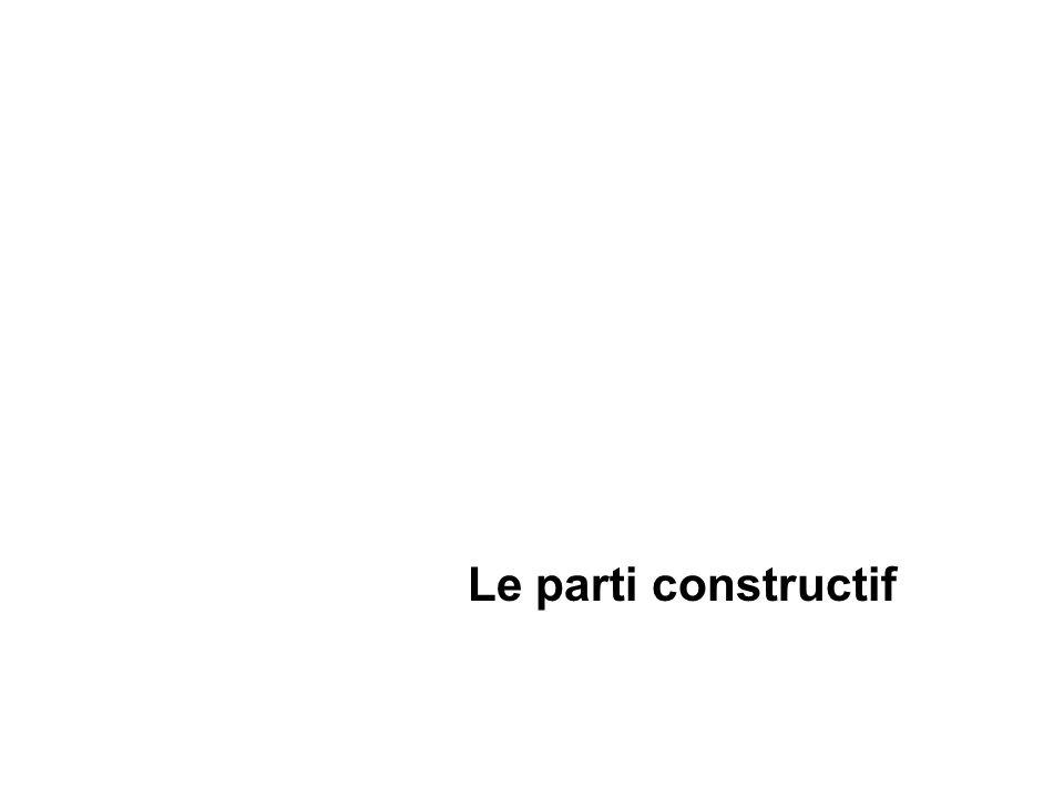 Le parti constructif
