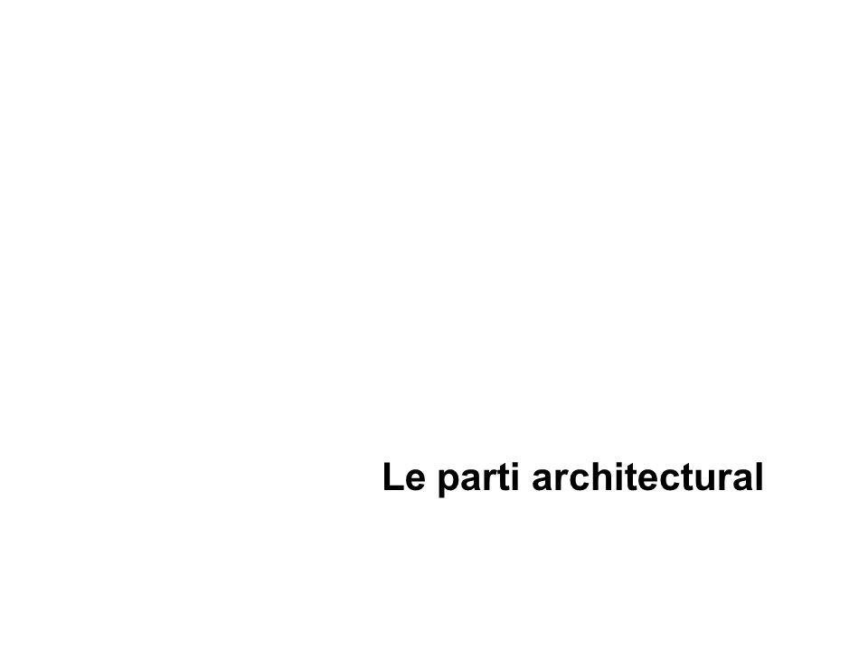 Le parti architectural