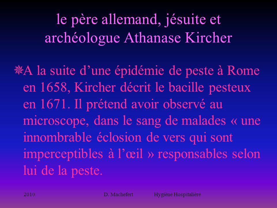 le père allemand, jésuite et archéologue Athanase Kircher
