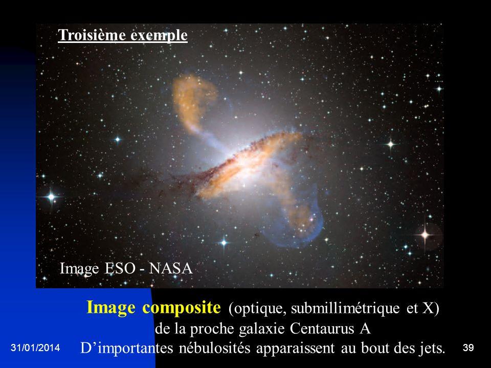 Troisième exemple Image ESO - NASA.