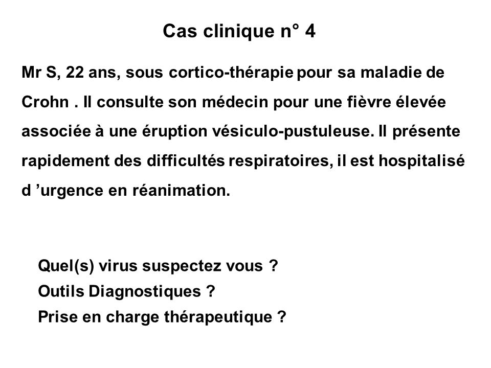 Cas clinique n° 4
