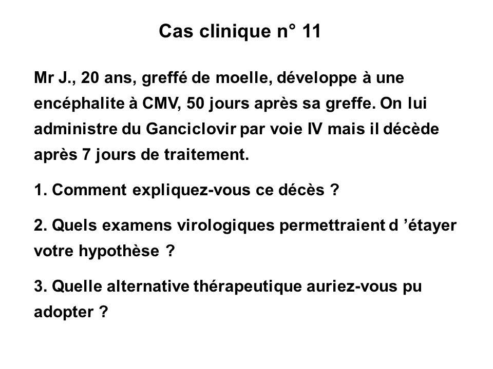 Cas clinique n° 11
