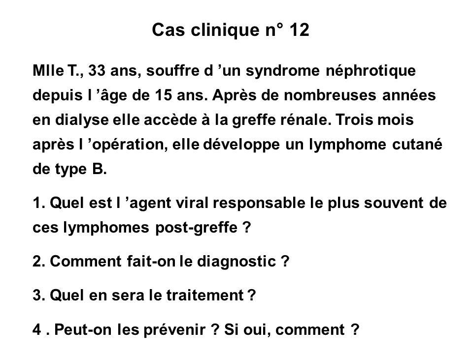 Cas clinique n° 12