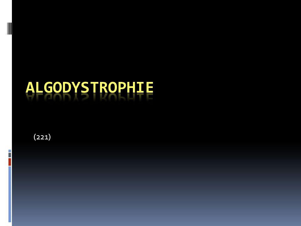 Algodystrophie (221)