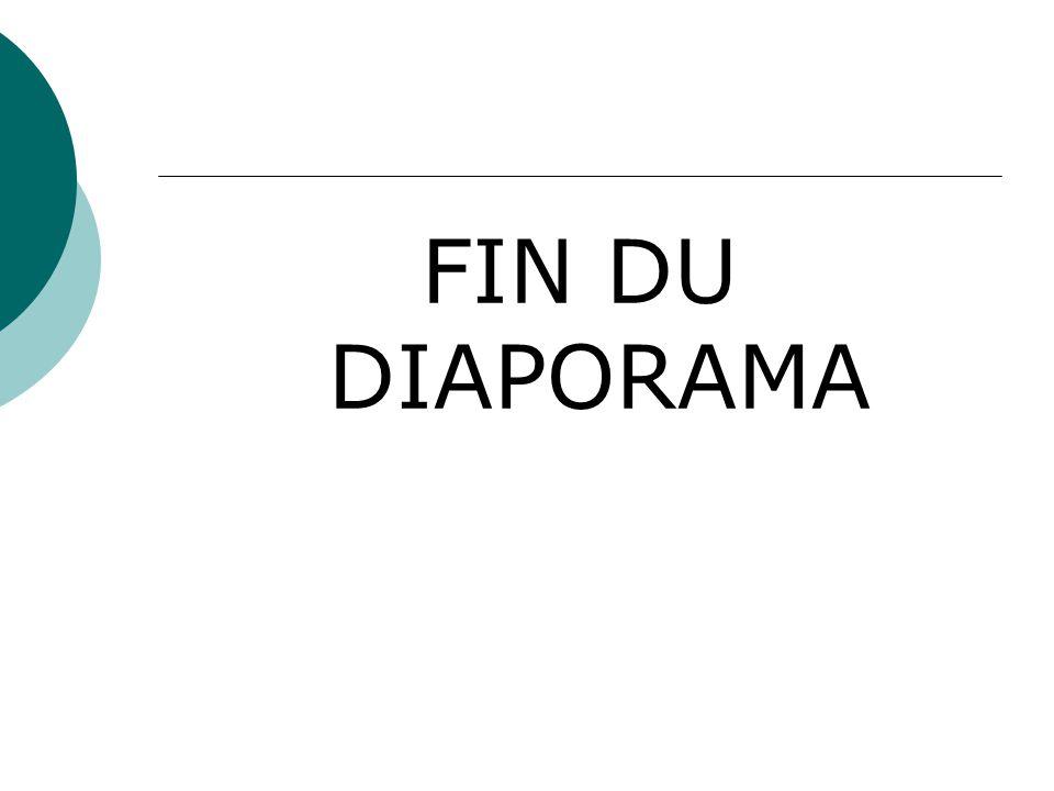FIN DU DIAPORAMA