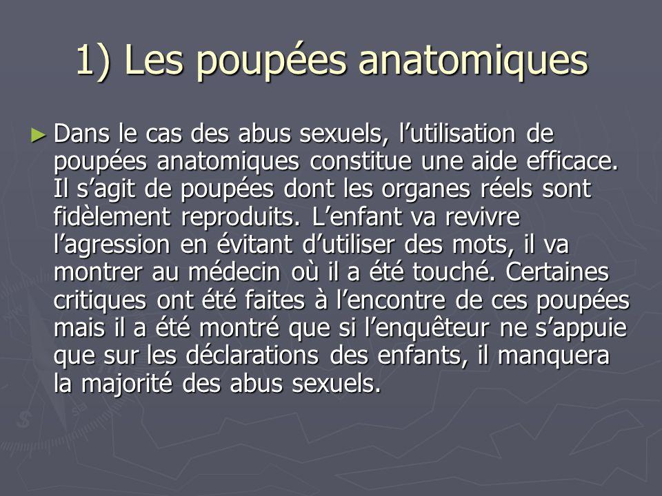 1) Les poupées anatomiques