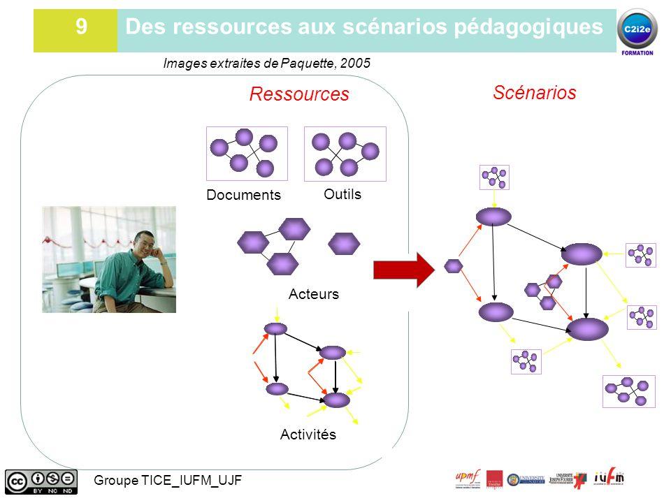 9 Des ressources aux scénarios pédagogiques