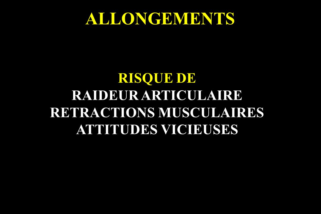 RETRACTIONS MUSCULAIRES
