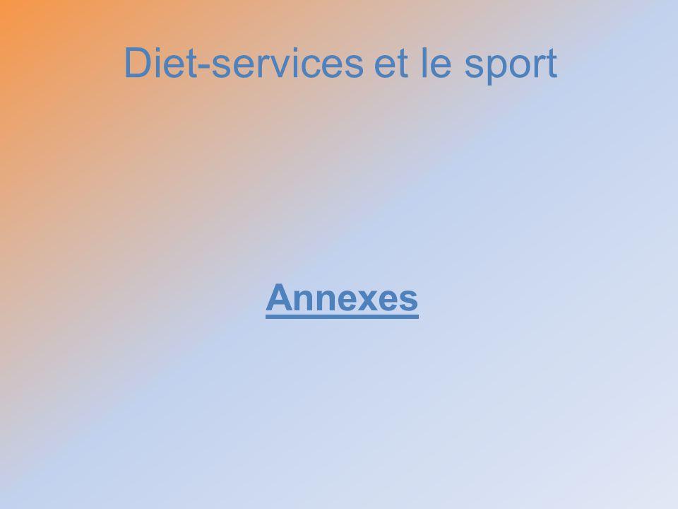 Diet-services et le sport