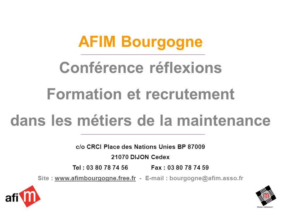 Conférence réflexions Formation et recrutement