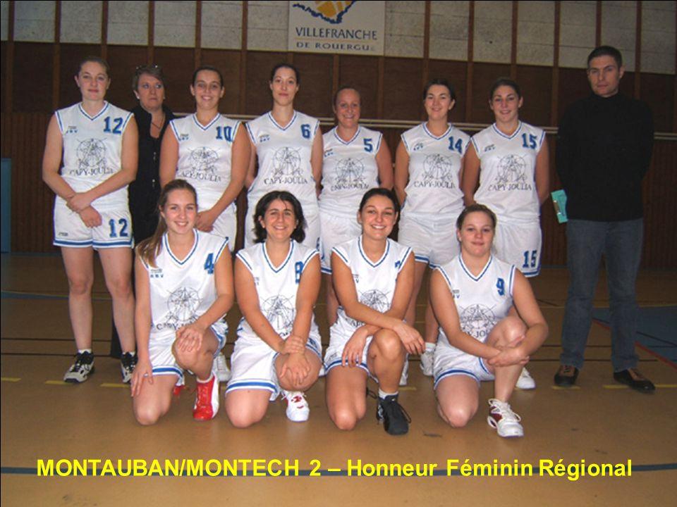MONTAUBAN/MONTECH 2 – Honneur Féminin Régional
