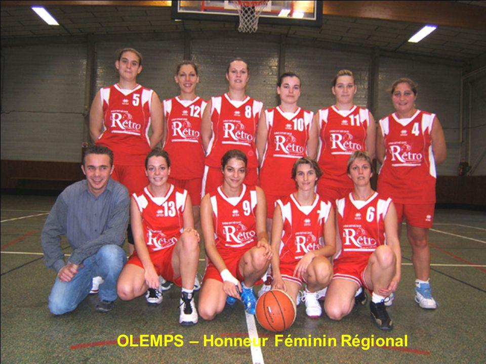 OLEMPS – Honneur Féminin Régional