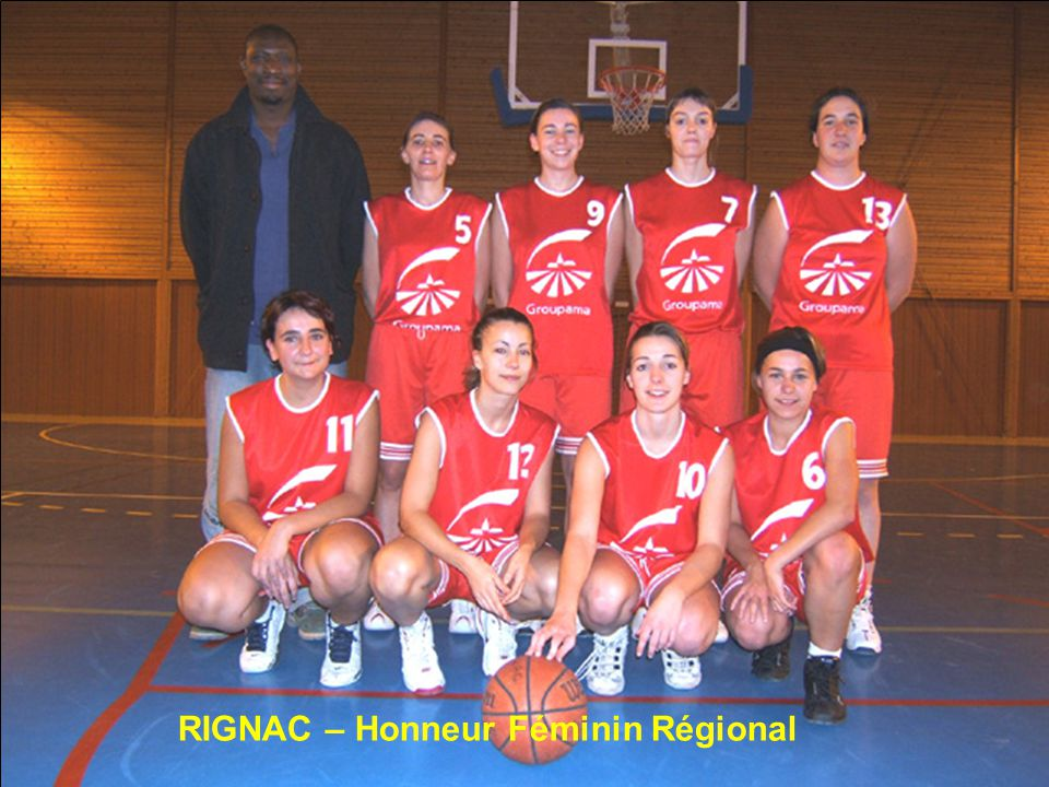RIGNAC – Honneur Féminin Régional