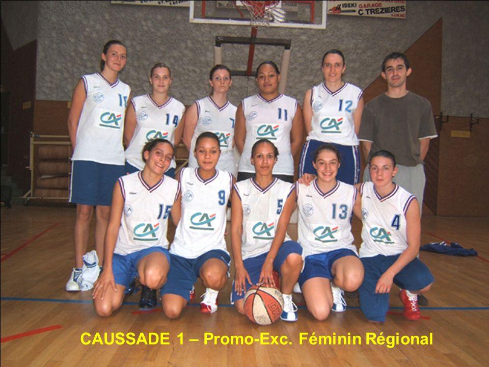 CAUSSADE 1 – Promo-Exc. Féminin Régional