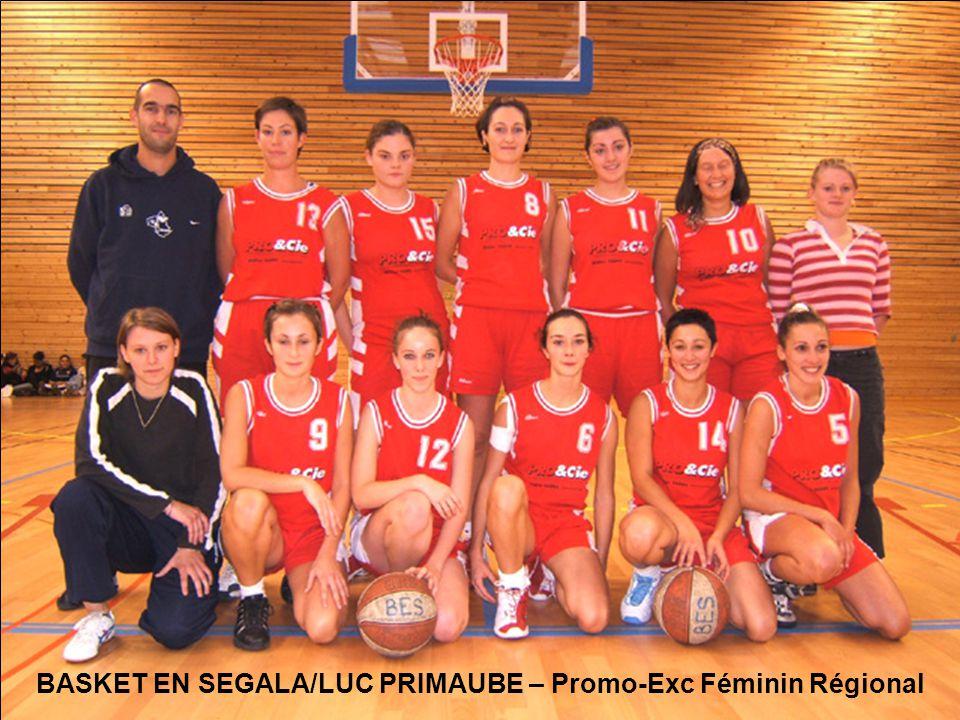 BASKET EN SEGALA/LUC PRIMAUBE – Promo-Exc Féminin Régional