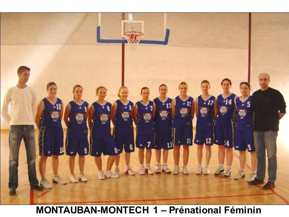 MONTAUBAN-MONTECH 1 – Prénational Féminin