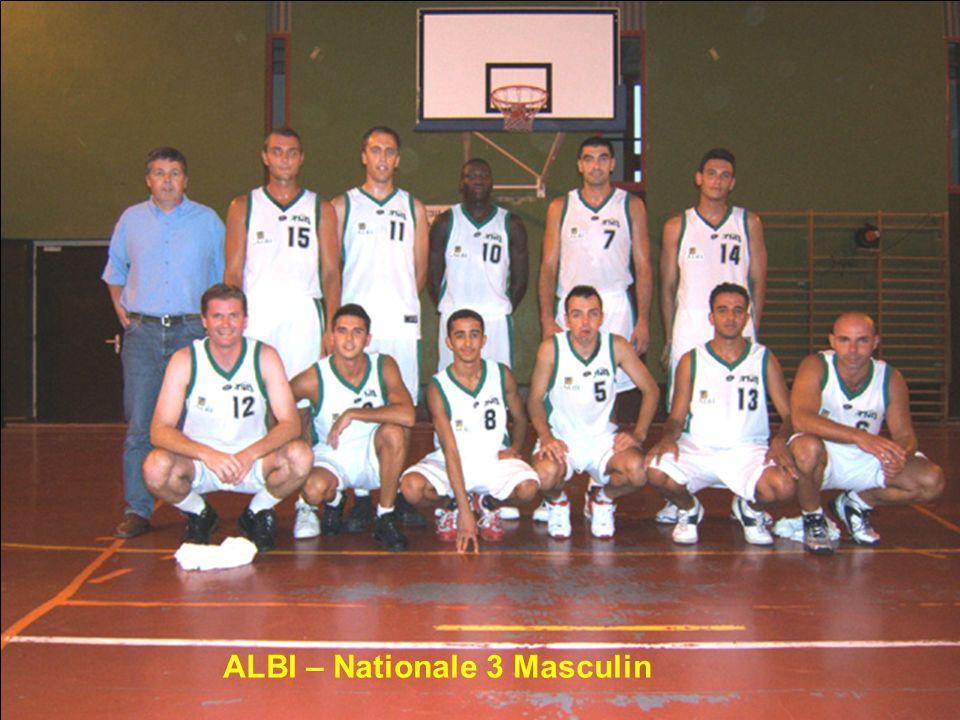 ALBI – Nationale 3 Masculin