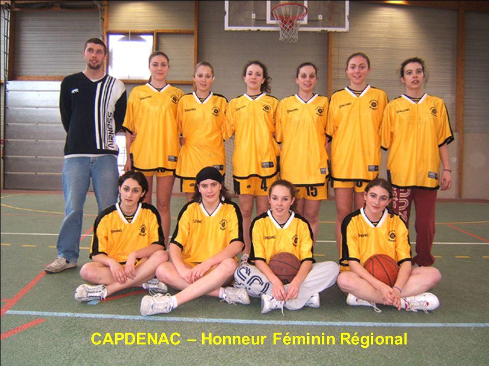 CAPDENAC – Honneur Féminin Régional