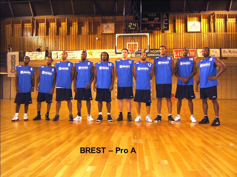 BREST – Pro A