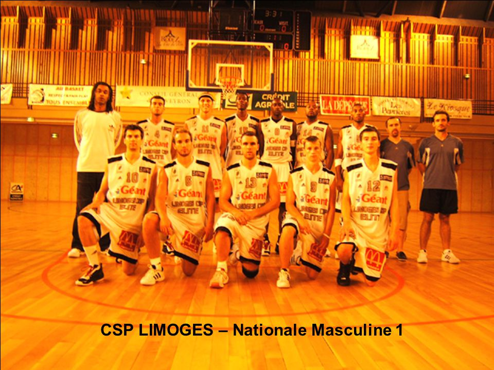 CSP LIMOGES – Nationale Masculine 1