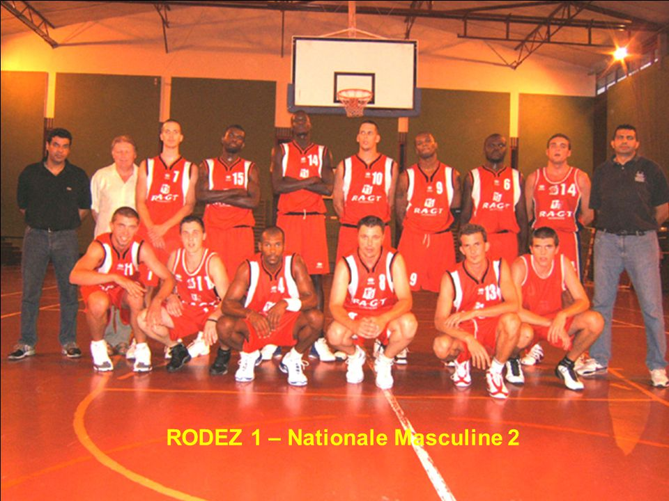 RODEZ 1 – Nationale Masculine 2