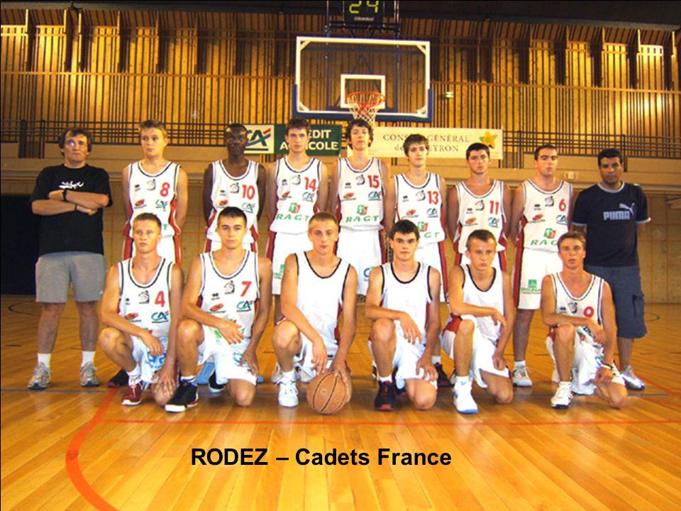 RODEZ – Cadets France