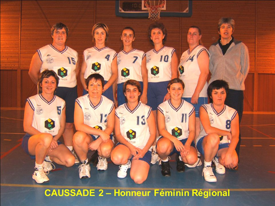 CAUSSADE 2 – Honneur Féminin Régional