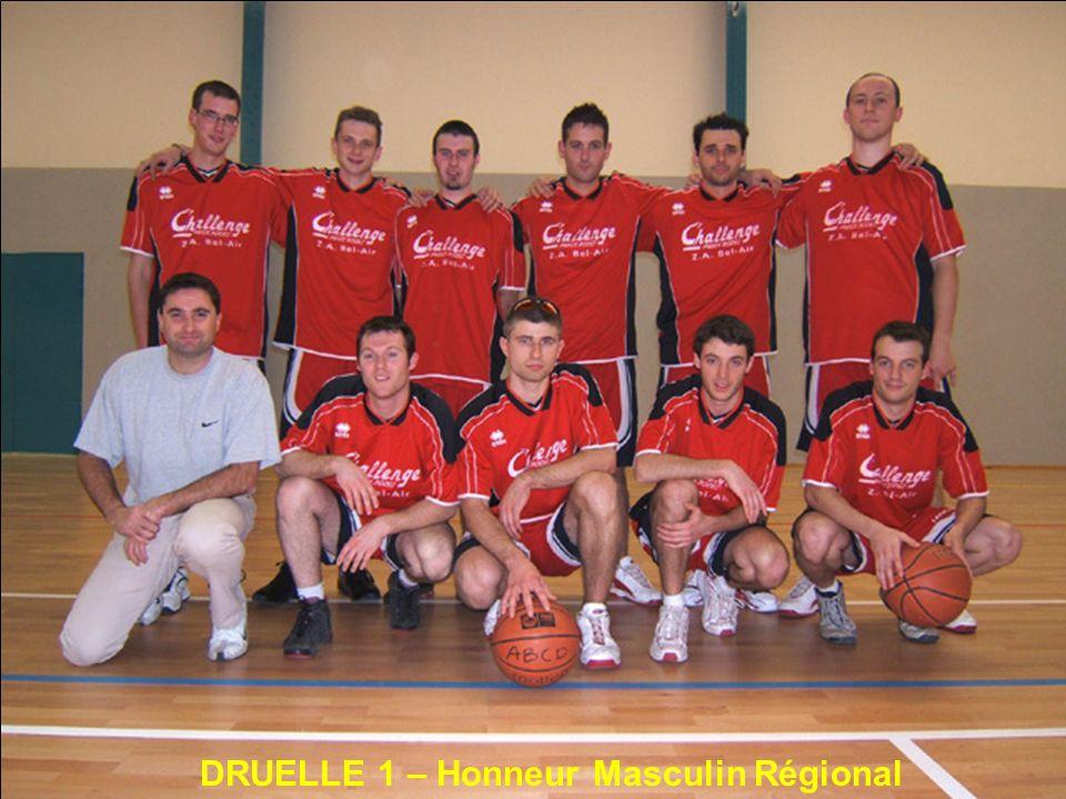 DRUELLE 1 – Honneur Masculin Régional