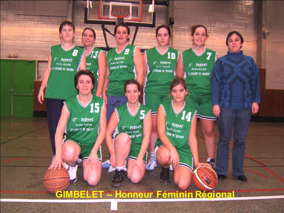 GIMBELET – Honneur Féminin Régional